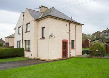Thumbnail 3 bed semi-detached house for sale in Sunnyside Crescent, Spittal, Berwick Upon Tweed