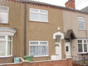 Thumbnail 2 bedroom terraced house to rent in Columbia Road, Grimsby
