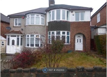 Thumbnail 3 bed semi-detached house to rent in Coleraine Road, Birmingham