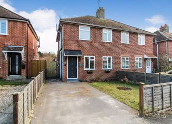 Thumbnail 3 bed semi-detached house for sale in Cromwell Road, Shaw, Newbury
