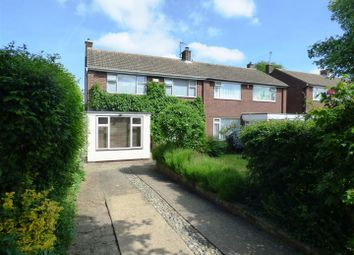 Thumbnail 3 bed semi-detached house to rent in Brian Road, Harlington, Dunstable