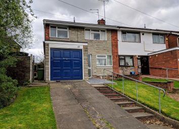 Thumbnail 3 bed semi-detached house for sale in Barnes Road, Stafford