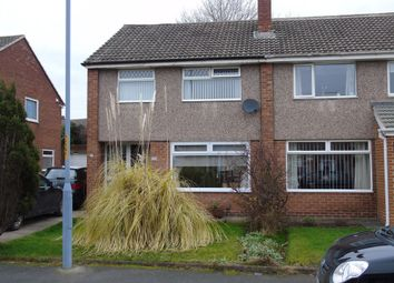 Thumbnail 3 bed semi-detached house for sale in Christchurch Drive, Stockton-On-Tees
