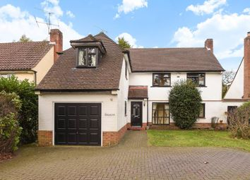 Thumbnail 4 bed detached house for sale in Heatherdale Road, Camberley GU15,