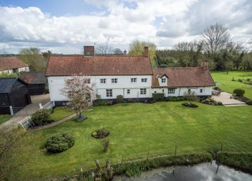 Thumbnail 5 bed detached house for sale in The Common, Fritton, Norwich