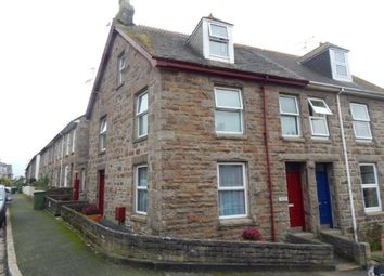 Thumbnail 1 bed maisonette to rent in Lescudjack Road, Penzance
