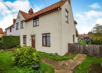 Thumbnail 3 bed semi-detached house for sale in Saxtead Road, Framlingham, Woodbridge