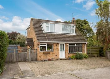 Thumbnail 3 bed detached bungalow for sale in Moorland Garth, Strensall, York