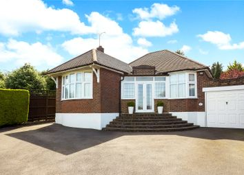 Thumbnail 4 bed detached bungalow for sale in Chapel Way, Epsom, Surrey