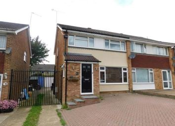 Thumbnail 3 bed semi-detached house for sale in Alkham Road, Vinters Park, Maidstone, Kent