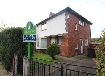 Thumbnail 3 bed semi-detached house for sale in Borland Avenue, Carlisle