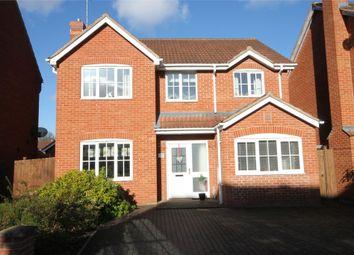 Thumbnail 4 bed detached house for sale in Stirling Drive, Coddington, Newark, Nottinghamshire.