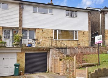 Thumbnail 3 bed semi-detached house for sale in Crespin Way, Brighton, East Sussex