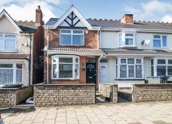 Thumbnail 4 bed terraced house for sale in Babington Road, Handsworth, Birmingham