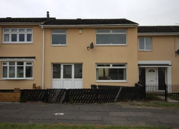 Thumbnail 3 bed terraced house for sale in Evesham Way, Billingham