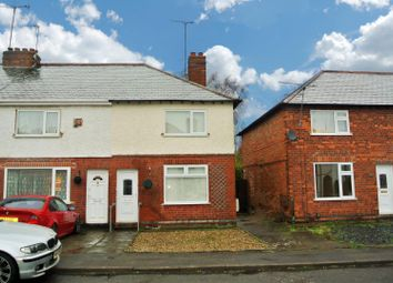 Thumbnail 2 bed town house for sale in Baldwin Avenue, Wigston