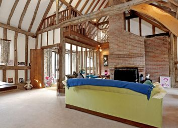 Thumbnail 4 bed barn conversion to rent in Red Hall, Redhall Lane, Chandlers Cross, Rickmansworth, Hertfordshire