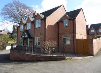 Thumbnail 4 bed detached house for sale in Manor View, Hartshorne, Swadlincote
