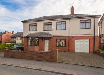 Thumbnail 5 bed detached house for sale in Hall Lane, Aspull, Wigan