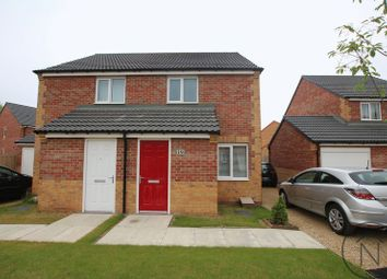 Thumbnail 2 bed semi-detached house for sale in St. Georges Close, Newton Aycliffe