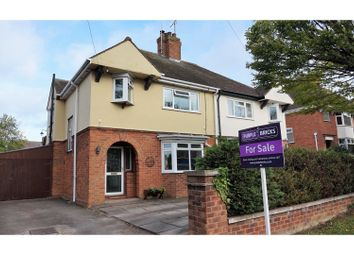 Thumbnail 4 bed semi-detached house for sale in Elm Road, Evesham