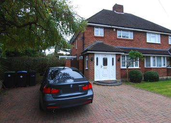Thumbnail 3 bedroom semi-detached house to rent in Barber Close, Winchmore Hill, London