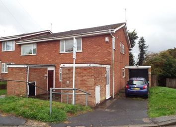 Thumbnail 1 bed maisonette for sale in Hazel Avenue, Sutton Coldfield, West Midlands