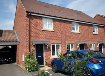 Thumbnail 2 bedroom end terrace house to rent in Dixy Close, St Neots