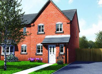 Thumbnail 3 bed terraced house for sale in Plot 4, Old Hall Fields, Mill Lane, Wellington
