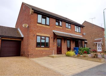Thumbnail 3 bedroom semi-detached house for sale in Lower Harlings, Ipswich