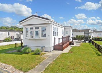 Thumbnail 1 bedroom mobile/park home for sale in Lower Dunton Road, Dunton Park, Brentwood, Essex