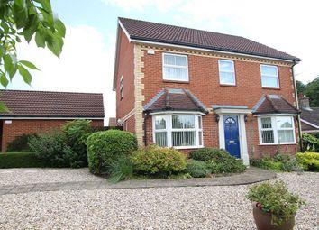 Thumbnail 4 bedroom detached house for sale in Hazel Rise, Claydon, Ipswich, Suffolk
