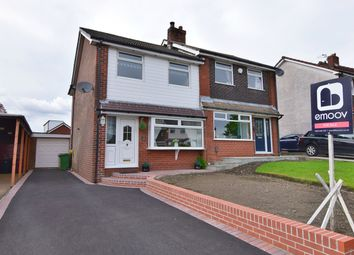 Thumbnail 3 bed semi-detached house for sale in Barnfield Close, Bolton, Greater Manchester