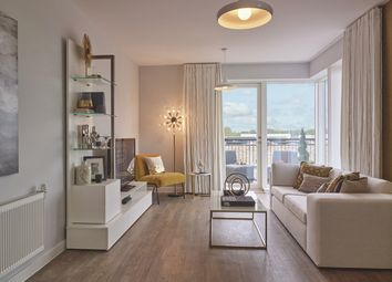 Thumbnail 1 bed flat for sale in Aura Development, Off Long Road, Trumpington, Cambridge
