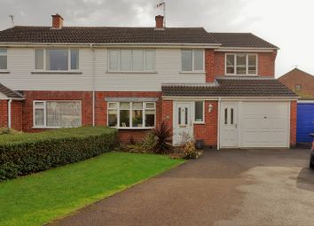 Thumbnail 4 bed semi-detached house for sale in Nicholas Drive, Ratby, Leicester