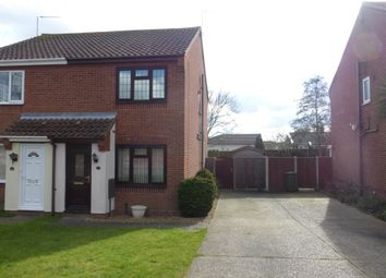 Thumbnail 2 bed semi-detached house to rent in Oak Tree Close, Martham, Great Yarmouth