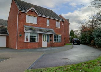 Thumbnail 4 bed detached house for sale in Crab Apple Grove, Hucknall, Nottingham