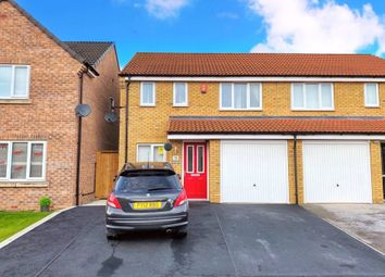 Thumbnail 3 bed semi-detached house for sale in Chartwell Gardens, Kingswood, Hull