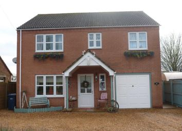 Thumbnail 4 bed detached house to rent in High Road, Gorefield, Wisbech