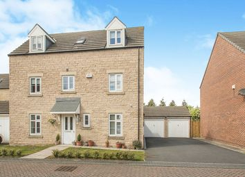 Thumbnail 4 bedroom detached house for sale in Regent Place, Thorpe, Wakefield