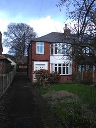 Thumbnail 3 bed semi-detached house to rent in Kedleston Road, Roundhay, Leeds