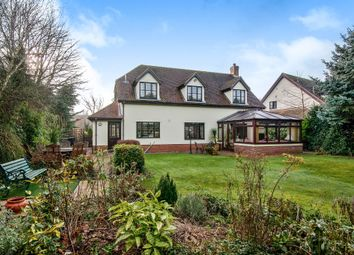 Thumbnail 4 bed detached house for sale in Rectory Green, Redgrave, Diss