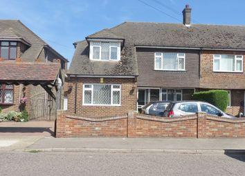 Thumbnail 3 bed semi-detached house for sale in Heath Road, Orsett Heath