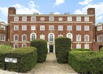 Thumbnail 3 bed flat for sale in Fortis Green, Muswell Hill