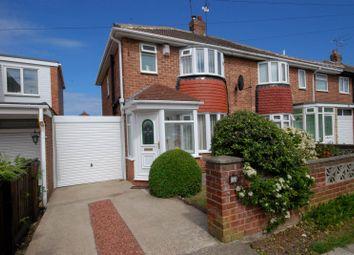 Thumbnail 3 bedroom semi-detached house for sale in Alston Crescent, Sunderland