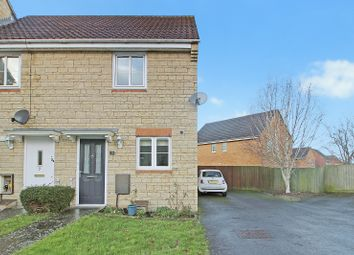 Thumbnail 2 bed semi-detached house for sale in Brabant Way, Westbury