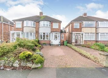 Thumbnail 3 bed semi-detached house for sale in Harvard Road, Solihull, West Midlands