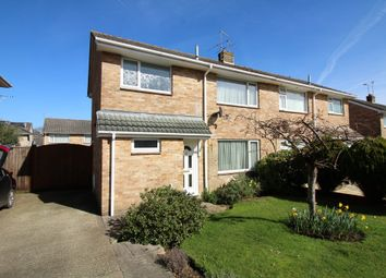Thumbnail 3 bed semi-detached house for sale in Primrose Way, Corfe Mullen, Wimborne