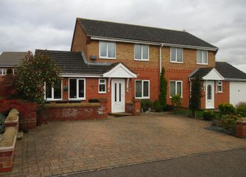 Thumbnail 4 bed semi-detached house for sale in Applegarth Close, Corby