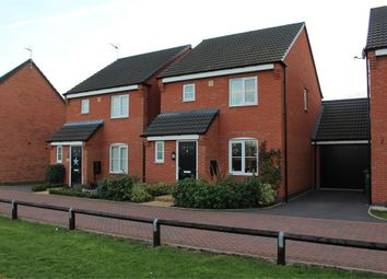 Thumbnail 3 bedroom link-detached house for sale in Baum Crescent, Stoney Stanton, Leicester